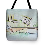 Thought Pad Series Page 1 Tote Bag