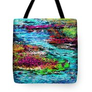 Thought Upon A Stream Tote Bag