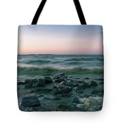 Thoughtful River Tote Bag