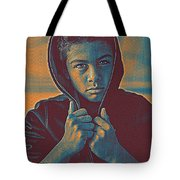 Thoughtful Youth 11 Tote Bag