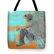 Thoughtful Youth 7 Tote Bag