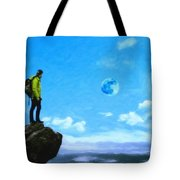 Thoughtful Youth 8 Tote Bag