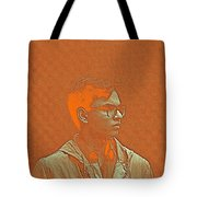 Thoughtful Youth Series 19 Tote Bag