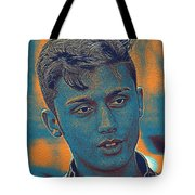 Thoughtful Youth Series 27 Tote Bag
