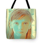 Thoughtful Youth Series 33 Tote Bag