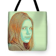 Thoughtful Youth Series 34 Tote Bag