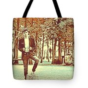 Thoughtful Youth Series 37 Tote Bag