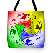Thoughts About Earth Tote Bag