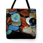Thoughts In Stone Tote Bag