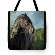 Thoughts Of Friesians Tote Bag