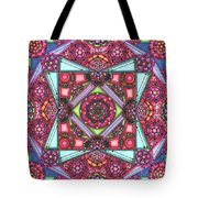 Thoughts Of Pink Tote Bag