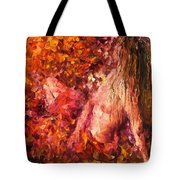 Thoughts Of Pleasure - Palette Knife Oil Painting On Canvas By Leonid Afremov Tote Bag