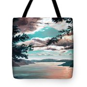 Thousand Island Sunset Tote Bag