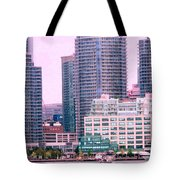 Thousands Of Windows On The Harbor Tote Bag