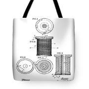 Thread Spool Patent 1877  Tote Bag