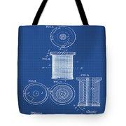 Thread Spool Patent 1877 Blueprint Tote Bag