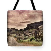 Threatening Skies Tote Bag