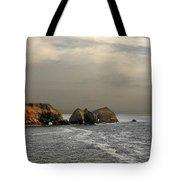 Three Arch Rocks - Oceanside Near Cape Meares - Oregon Tote Bag
