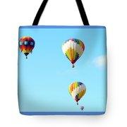 Three Balloons Tote Bag