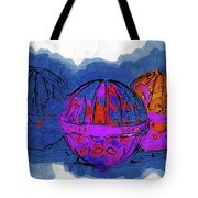 Three Balls Tote Bag