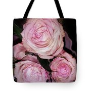 Three Beautiful Roses Tote Bag
