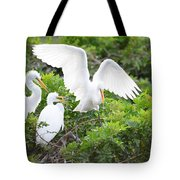 Three Birds Of A Feather Flock Together Tote Bag