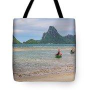 Three Boats Thailand Tote Bag