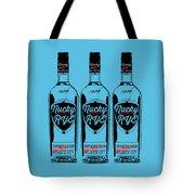 Three Bottles Of Nucky Rye Tee Tote Bag