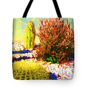 Three Cacti Tote Bag