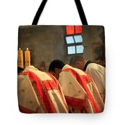 Three Candles Tote Bag