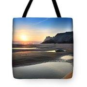 Three Cliffs Bay 2 Tote Bag