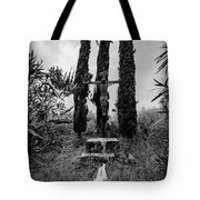 Three Cypresses Tote Bag