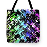 Three-d Dimensional Abstract Design Tote Bag