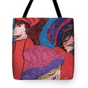 Three Directions Tote Bag