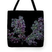 Three Electric Liliacs Tote Bag