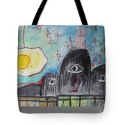 Three Eyes Tote Bag