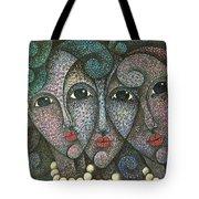 Three Faces  2015 Tote Bag