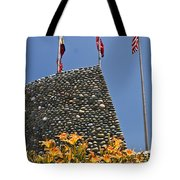 Three Flags In Memphis Tennessee Tote Bag