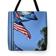 Three Flags Tote Bag