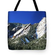 Three Flatirons Tote Bag