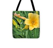 Three Flower Stages Tote Bag