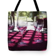 Three For Wine Tote Bag