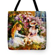 Three  Friends Tote Bag by Leonid Afremov