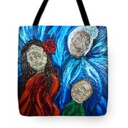 Three Generations Tote Bag