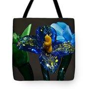 Three Glass Flowers Tote Bag