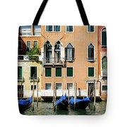 Three Gondolas Tote Bag
