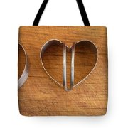 Three Heart Cutters Tote Bag