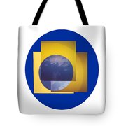 Three In One Square Tote Bag