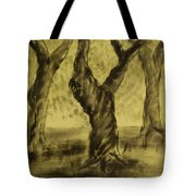 Three Is As Tree Gets Tote Bag