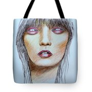 Three Kisses Tote Bag
